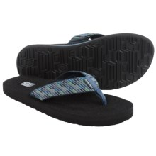 Teva Mush II Thong Sandals - Flip-Flops (For Men) in Nitro Grey - Closeouts