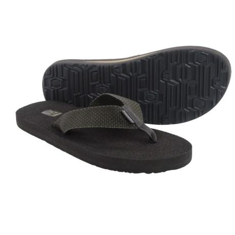 Teva Mush II Thong Sandals - Flip-Flops (For Men) in Sterling Olive