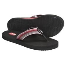 Teva Mush II Thong Sandals - Flip-Flops (For Women) in Antiguous Poppy - Closeouts