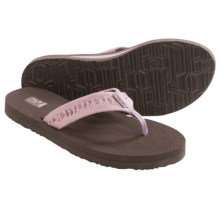 Teva Mush II Thong Sandals - Flip-Flops (For Women) in Chinchurro Sea Fog - Closeouts