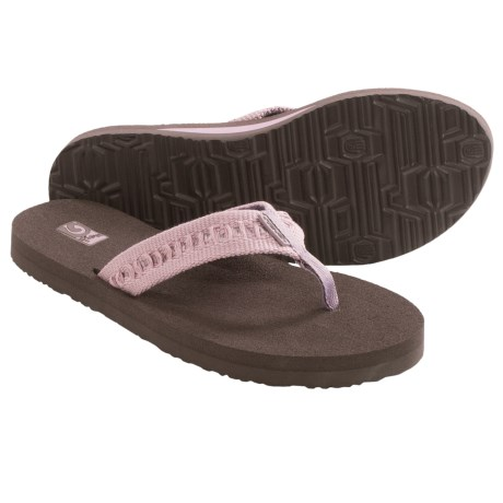 Teva Mush II Thong Sandals - Flip-Flops (For Women) in Chinchurro Sea Fog