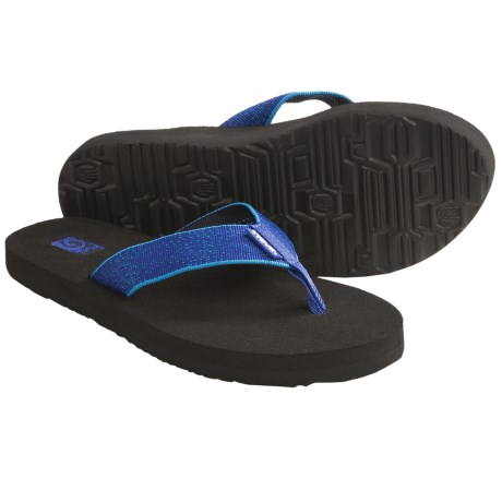 Teva Mush II Thong Sandals - Flip-Flops (For Women) in Constellation Blue