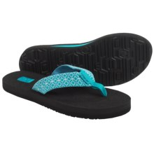 Teva Mush II Thong Sandals - Flip-Flops (For Women) in Rombo Blue - Closeouts