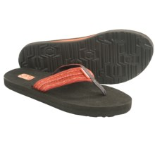 Teva Mush II Thong Sandals - Flip-Flops (For Women) in Santori Tribal Orange - Closeouts