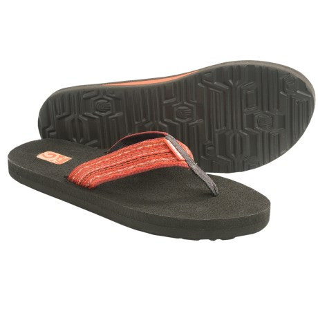 Teva Mush II Thong Sandals - Flip-Flops (For Women) in Santori Tribal Orange