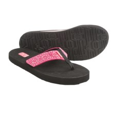 Teva Mush II Thong Sandals - Flip-Flops (For Women) in Vineyard Skip Pink - Closeouts
