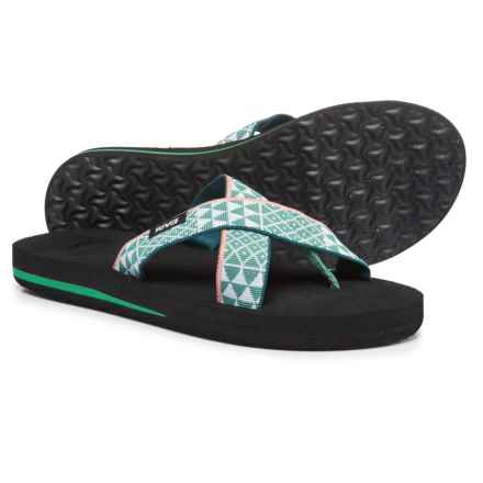 Teva Mush® Kalea Sandals (For Women) in Pastel Mint - Closeouts
