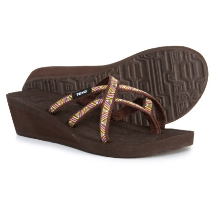 ff902d4c3617d Teva Mush® Mandalyn Wedge Ola 2 Sandals (For Women) in Agave Deep Mahogany