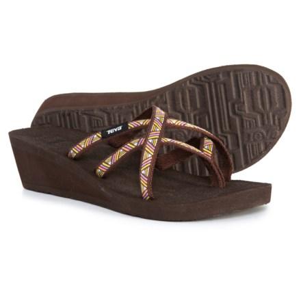 6cef730b2819 Teva Mush® Mandalyn Wedge Ola 2 Sandals (For Women) in Agave Deep Mahogany