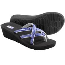 Teva Mush® Mandalyn Wedge Ola 2 Sandals (For Women) in Float Blue - Closeouts