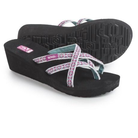 Teva Mush® Mandalyn Wedge Ola 2 Sandals (For Women) in Wonders Magenta