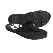 Teva Mush® Print Thong Sandals (For Women) in Maroni Black - Closeouts