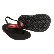 Teva Mush Sandals (For Infants) in Bling Red - Closeouts