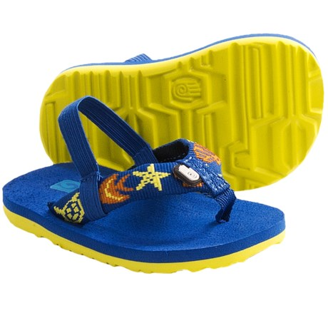 Teva Mush Sandals (For Infants) in Marine Strong Blue