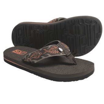 Teva Mush Sandals (For Kids) in Piranha Harvest Pumpkin