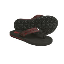 Teva Mush Sandals (For Kids) in Zapotes Red - Closeouts