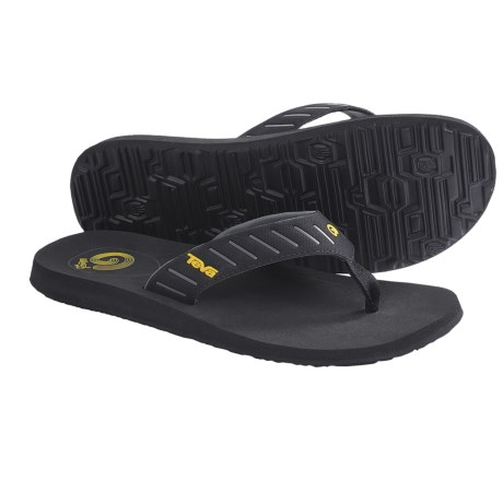 Teva Mush® Sola Sandals - Flip-Flops (For Men) in Black