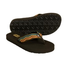 Teva Mush® Thong Sandals (For Women) in Neptune Pesto - Closeouts