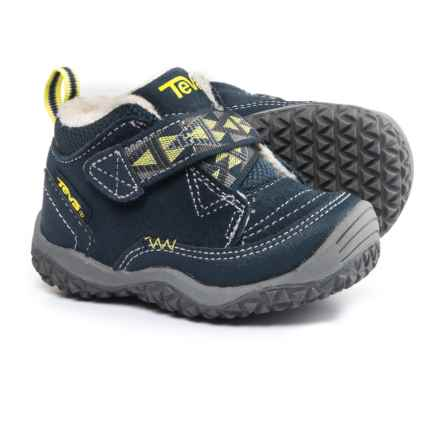 Teva Natoma Sneakers - Suede, Fleece Lined (For Infant and Toddler Boys) in Navy - Closeouts