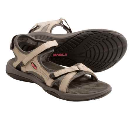 Teva Neota Sport Sandals (For Women) in Silver Cloud - Closeouts