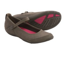 Teva Niyama Flat Perf Shoes - Leather (For Women) in Bungee Cord - Closeouts