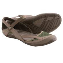 Teva Northwater Sandals - Faux-Leather and Mesh (For Women) in Brown - Closeouts
