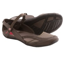 Teva Northwater Sandals - Faux-Leather and Mesh (For Women) in Turkish Coffee - Closeouts
