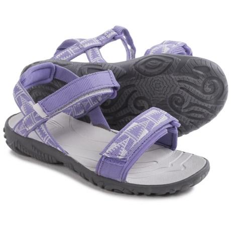 Teva Nova Sandals (For Big Girls) in Purple/Grey