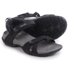 Teva Numa Print Sport Sandals (For Women) in Black - Closeouts