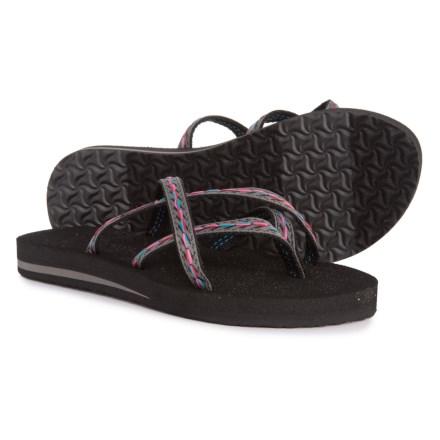 364278d19e2f Teva Olowahu Flip-Flops (For Women) in Felicitas Black