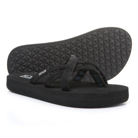 Teva Olowahu Mush® Flip-Flops (For Girls) in Black
