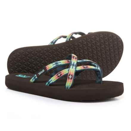Teva Olowahu Mush® Flip-Flops (For Girls) in Pana Chocolate - Closeouts