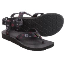 Teva Original Floral Sport Sandals (For Women) in Nightshade Floral - Closeouts