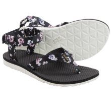 Teva Original Floral Sport Sandals (For Women) in White Floral - Closeouts