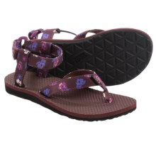 Teva Original Floral Sport Sandals (For Women) in Zinfandel - Closeouts