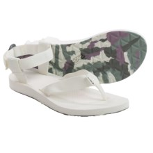 Teva Original Marbled Sport Sandals (For Women) in Bright White - Closeouts