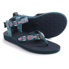 Teva Original Mash Up Sandals (For Women) in Mashup Blue - Closeouts
