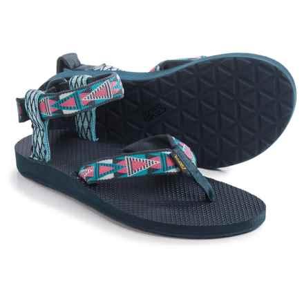 Teva Original Mash Up Sandals (For Women) in Mashup Blue - Closeouts