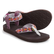 Teva Original Mash Up Sandals (For Women) in Mashup Orchid - Closeouts