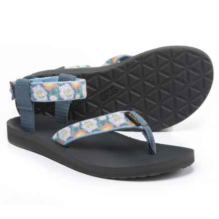 Teva Original Sport Sandals (For Women) in Malena Fade Blue - Closeouts