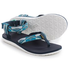 Teva Original Sport Sandals (For Women) in Pyramid Blue - Closeouts