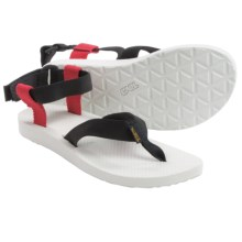 Teva Original Sport Sports Sandals (For Women) in Black/Red - Closeouts