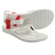 Teva Original Sport Sports Sandals (For Women) in White/Grenadine - Closeouts