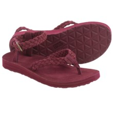 Teva Original Suede Braid Sport Sandals (For Women) in Zinfandel - Closeouts