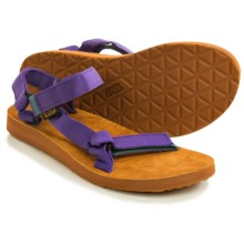 Teva Original Universal Backpack Sandals (For Women) in Deep Purple - Closeouts