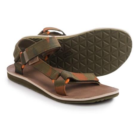 Teva Original Universal Brushed Canvas Sandals