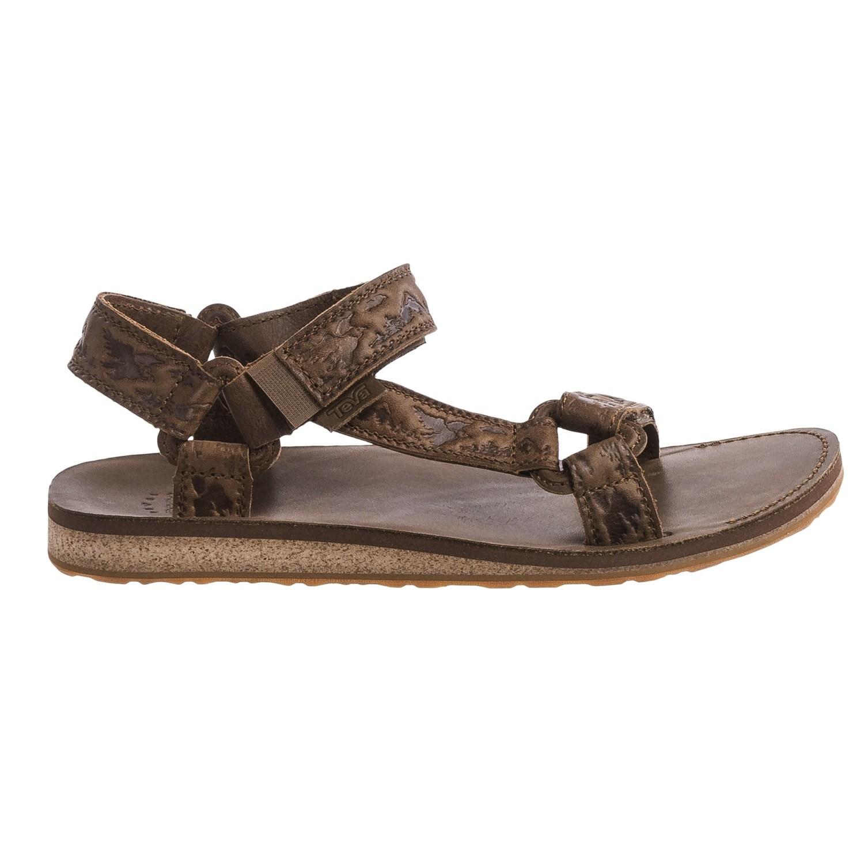 Teva Original Universal Crafted Leather Sandals (For Men)