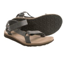 Teva Original Universal Diamond Sport Sandals - Leather (For Women) in Eiffel Tower - Closeouts