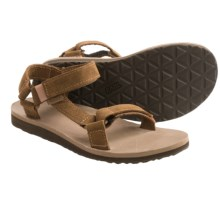 Teva Original Universal Diamond Sport Sandals - Leather (For Women) in Toasted Coconut - Closeouts