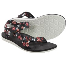 Teva Original Universal Floral Sport Sandals (For Women) in Persimmon Floral - Closeouts